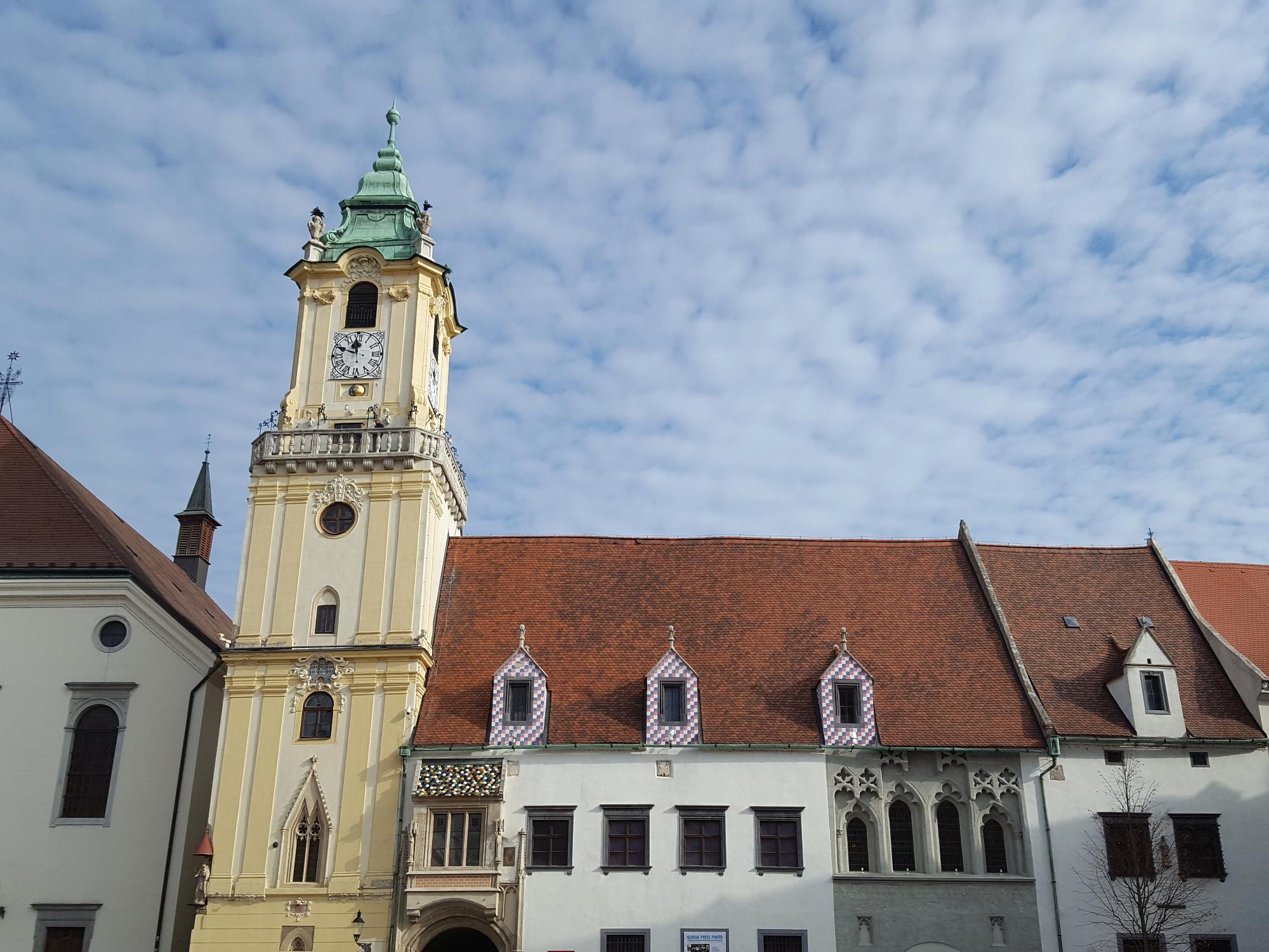 Church in Bratislava old town