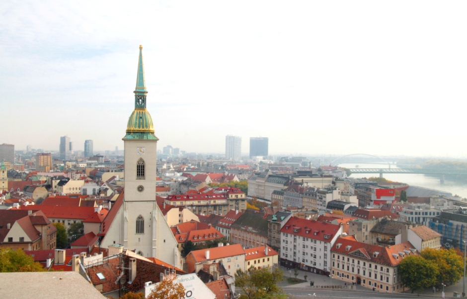 Bratislava in a day | City guide | Travel guide | Girl with a saddle bag blog