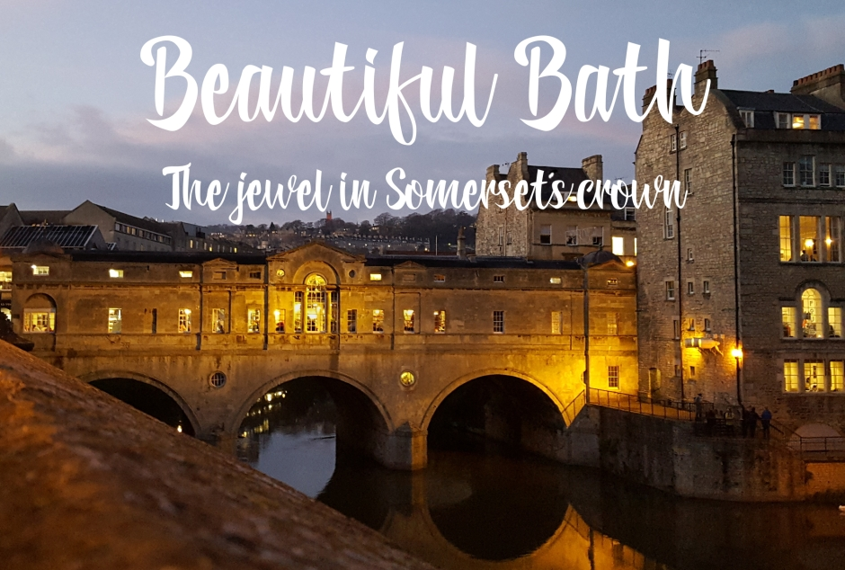 Beautiful Bath, the jewel in Somerset's crown