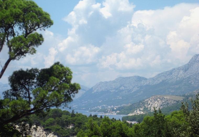 Running on the Dalmation coast of Croatia