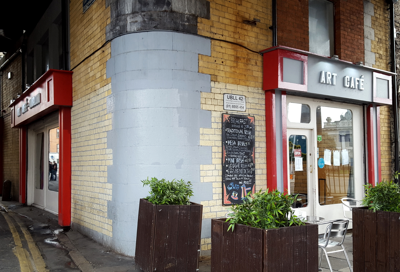 Art Cafe in Dublin, Ireland