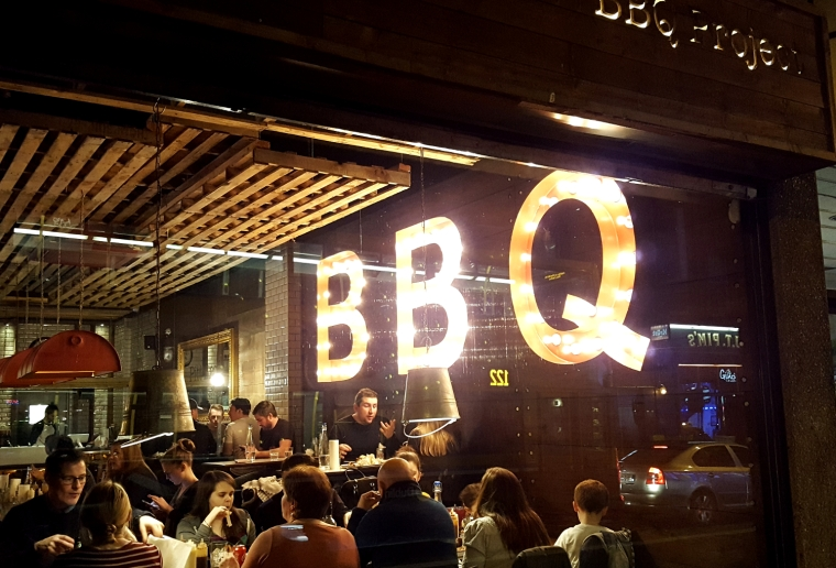 Pitt Bros. BBQ in Dublin, Ireland