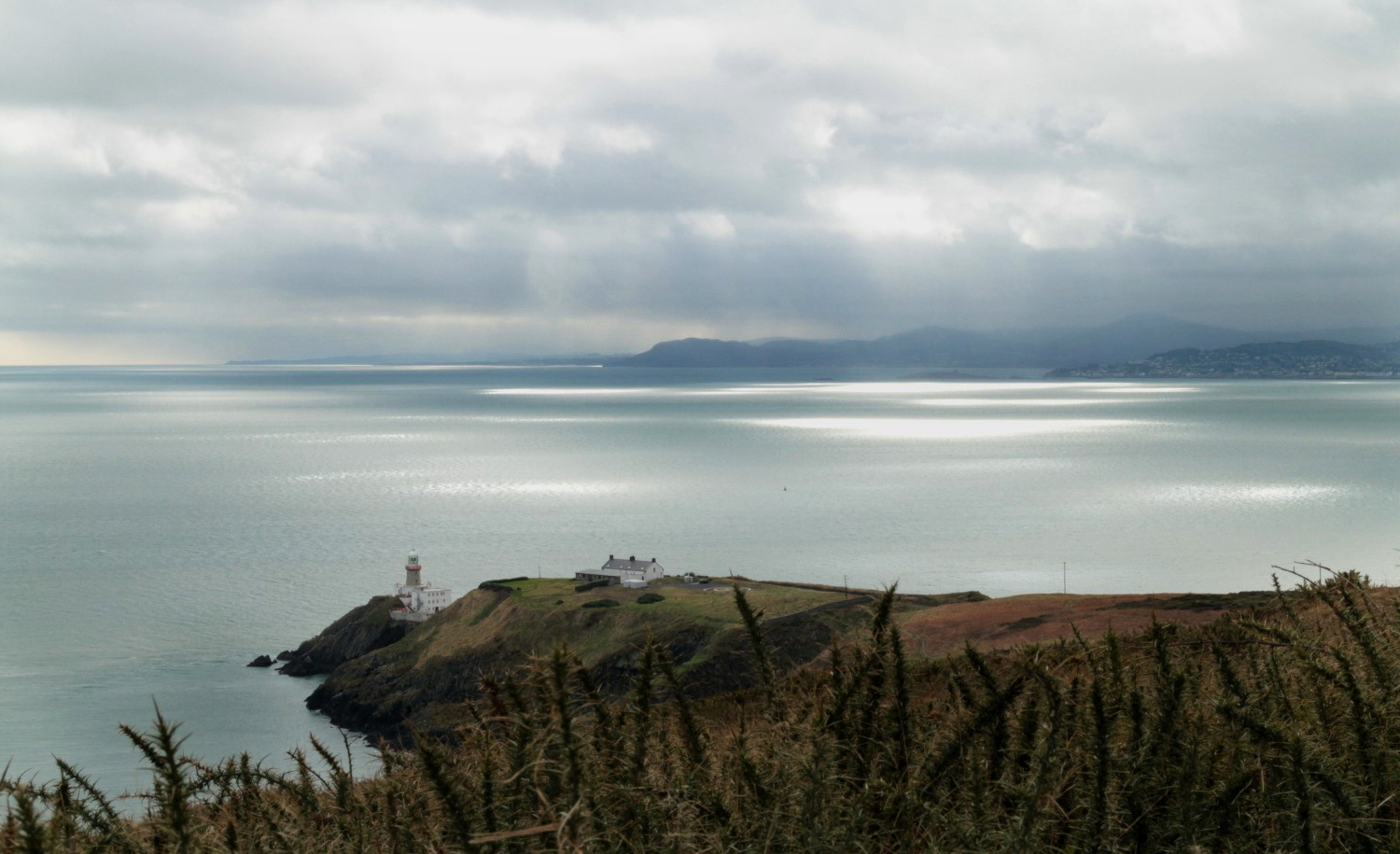 Sea views from Howth near Dublin, Ireland