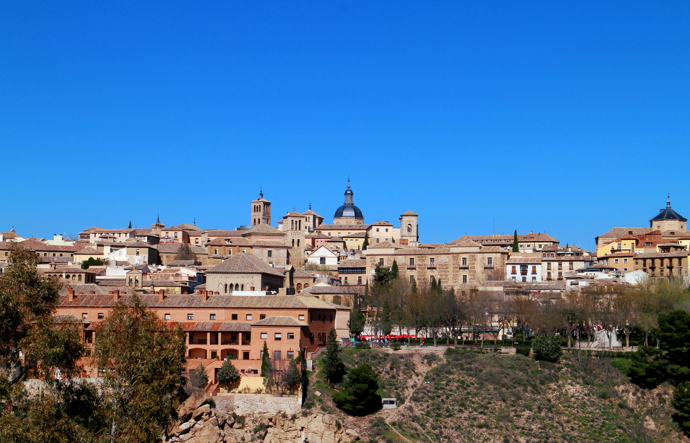 View of Toledo from La Cabeza chapel