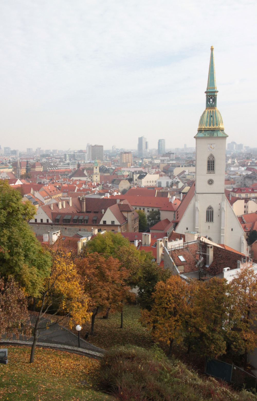 Bratislava, Slovakia, city skyline