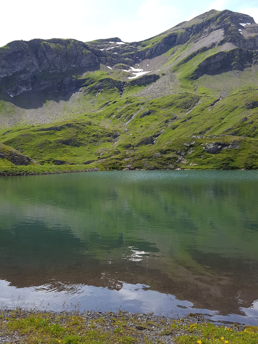 Bachalpsee at Grindelwald-First in the Bernese Oberland