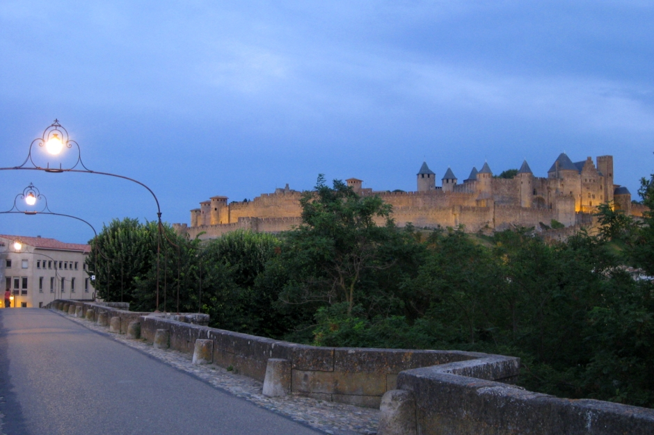 The fortified city of Carcassonne in southern France