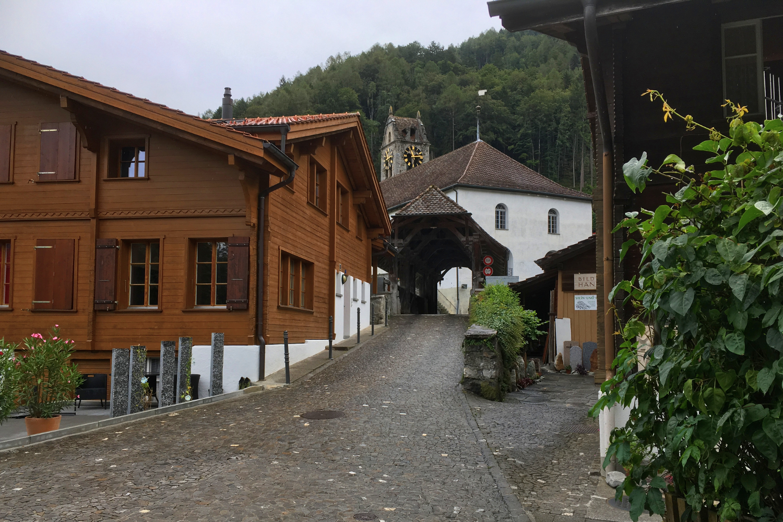 Wilderswil near Interlaken in the Bernese Oberland, Switzerland