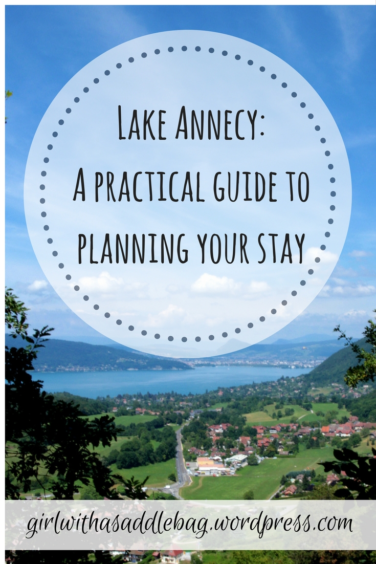 Lake Annecy, France: A practical guide to planning your travel and accommodation | Travel guide | Girl with a saddle bag blog