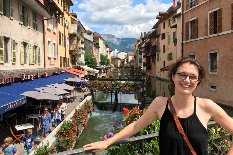 Lake Annecy, France's best-kept secret | River Thiou, Annecy | Travel guide | City guide| Girl with a saddle bag blog