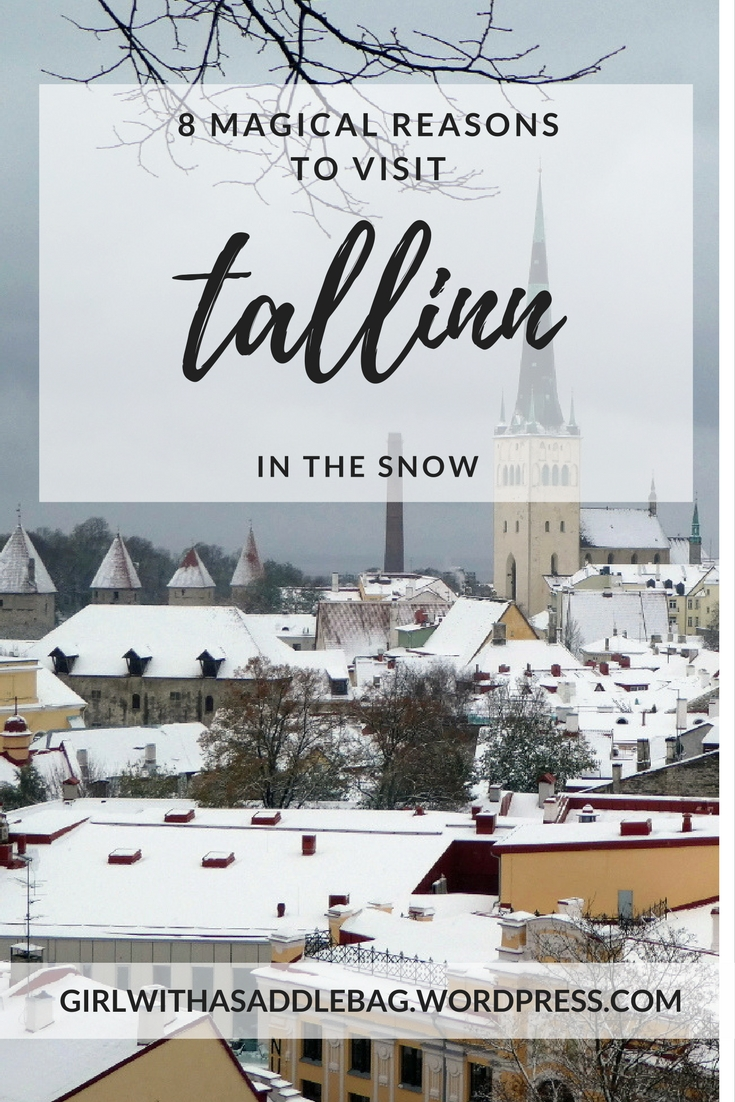 8 magical reasons to visit Tallinn, Estonia, in the snow | Travel guide | City guide | Girl with a saddle bag blog
