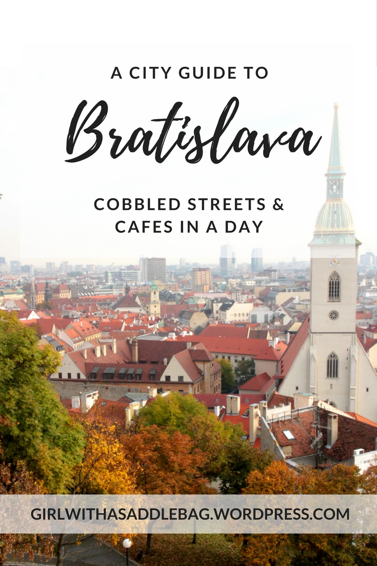 Bratislava in a day: Cobbled streets and cafes, Slovakian-style   City guide   Travel guide   Girl with a saddle bag blog