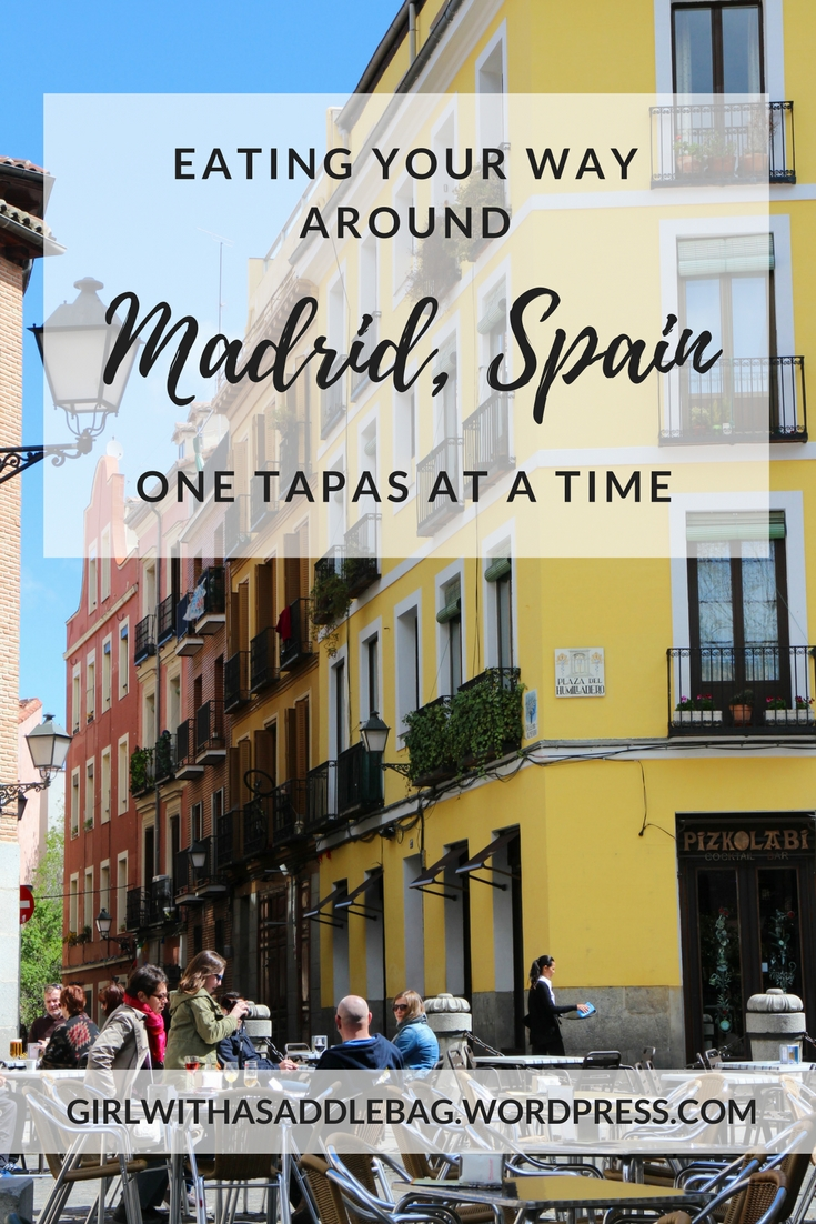Eating your way around Madrid, Spain: One tapas at a time | Travel guide | City guide | Girl with a saddle bag blog