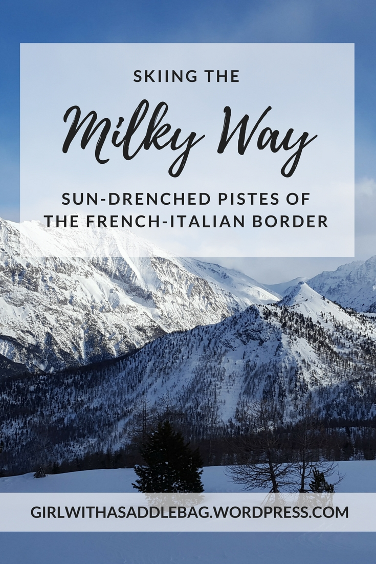 Skiing the Milky Way: the sun-drenched pistes of the French-Italian border | Travel guide | Ski guide | Girl with a saddle bag blog