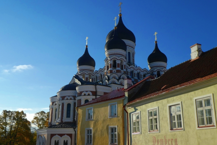 Alexander Nevsky cathedral in the old town of Tallinn, Estonia | Travel guide | City guide | Girl with a saddle bag blog
