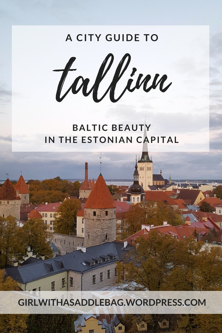A city guide to Tallinn: Baltic beauty in the Estonian capital | Travel guide | Girl with a saddle bag blog